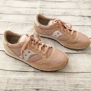 Saucony Light Pink Sneakers